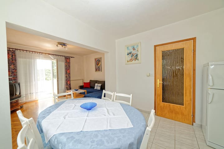 Rooms Anica / Two Bedrooms A6 - Kampor - Huoneisto