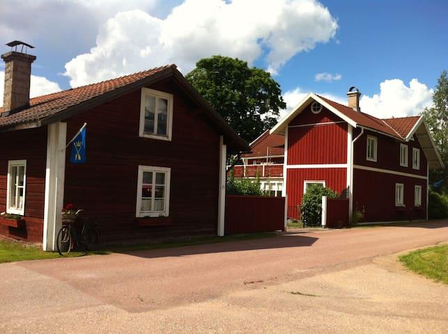 Lindgrens - kringbyggd dalagård anno 1884 - Vansbro SO - Wohnung