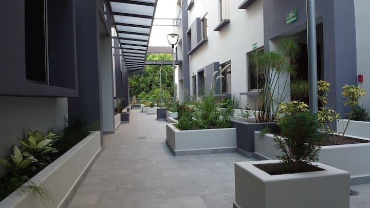 Sanitizado: Apartamento Premium con bosque privado
