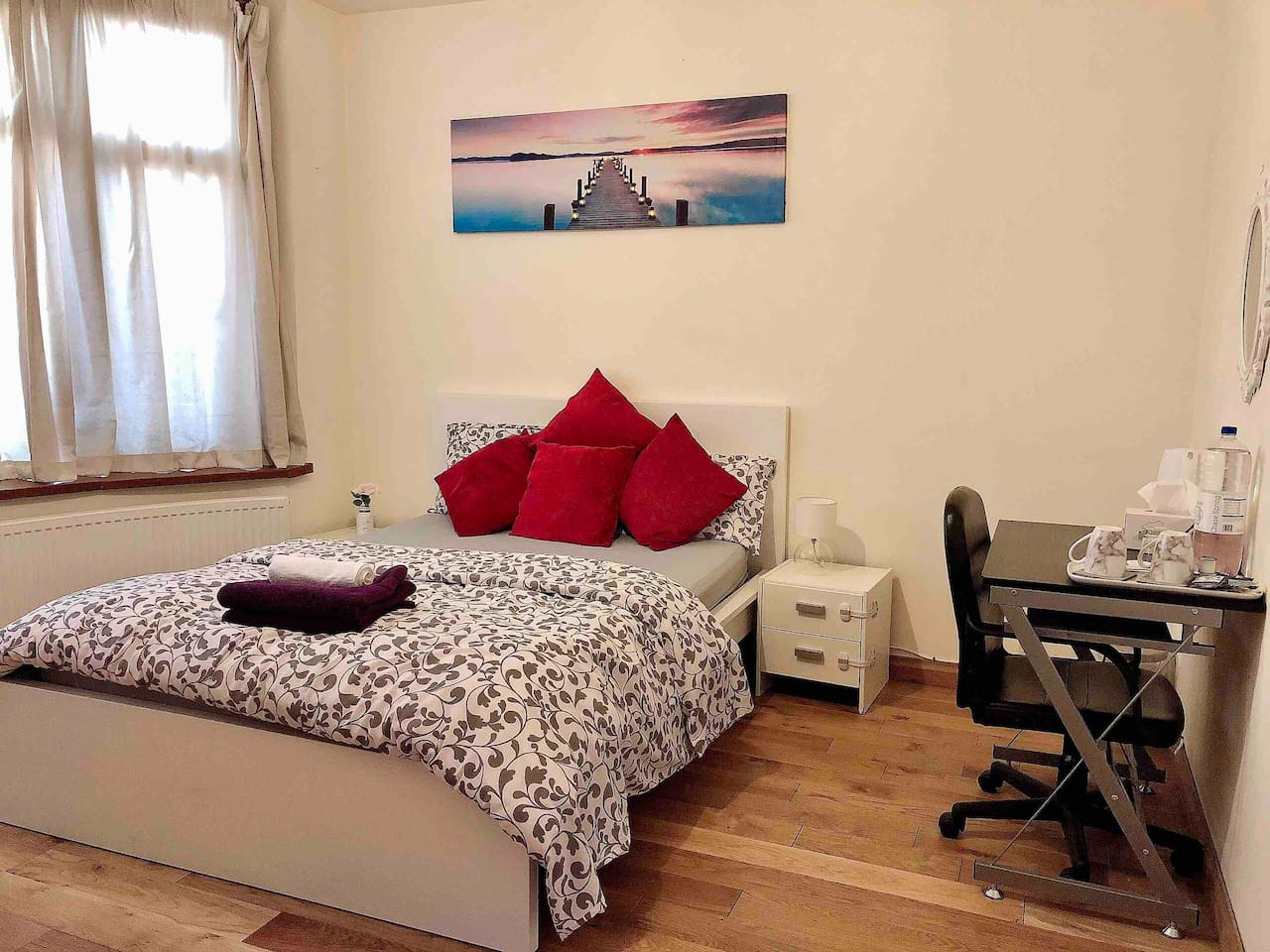 A double bed room