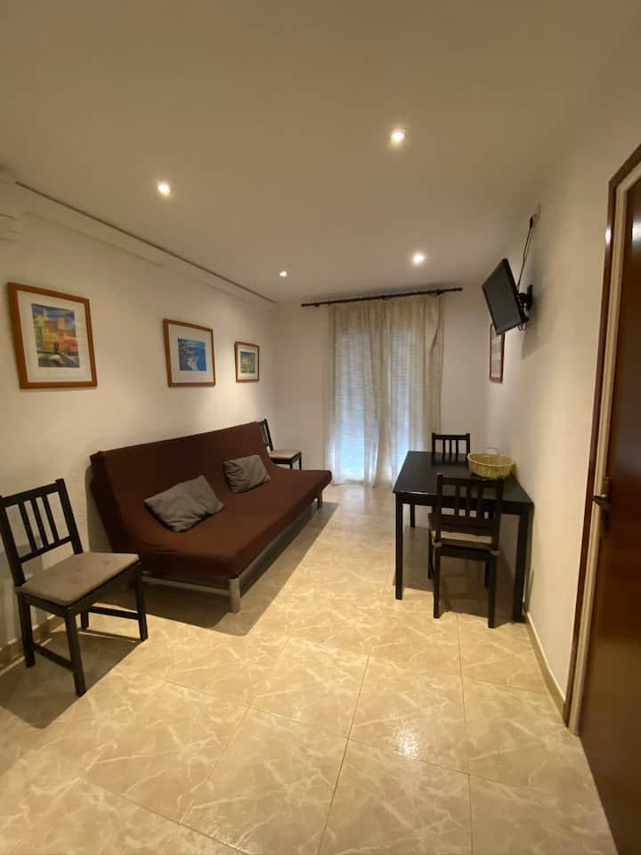 Apartamento céntrico, tranquilo y con terraza