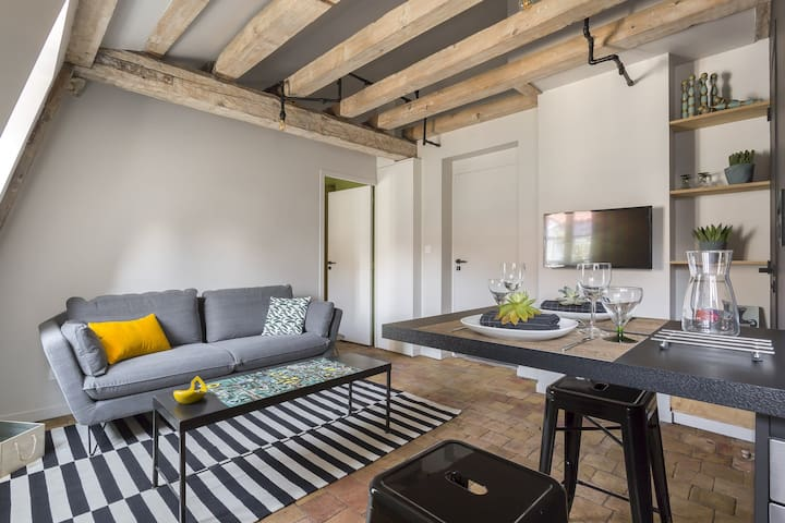 QUIET AND MODERN APARTMENT IN LYON - CLOSE TO THE QUAYS OF THE RHONE RIVER