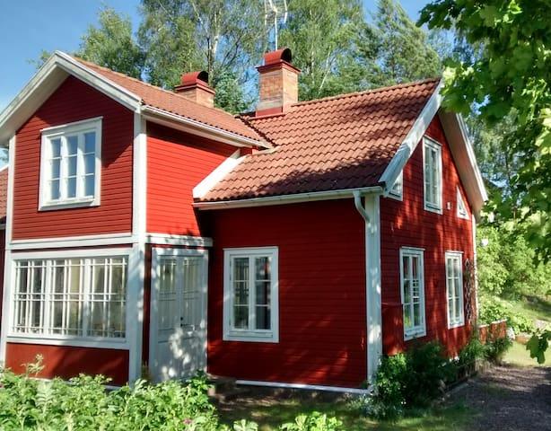 Ferienhaus Oskarslund in Lönneberga nahe Vimmerby