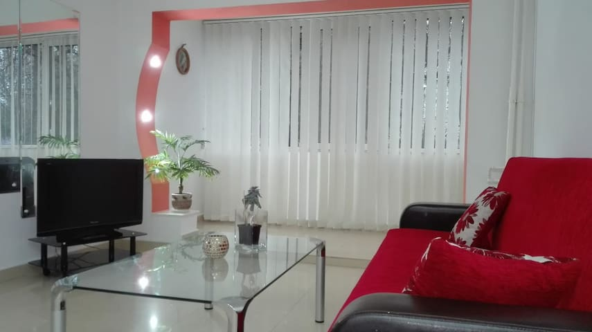 red sofa set and turquoise wall color for incredible.htm airbnb   constan  a vacation rentals   places to stay  airbnb   constan  a vacation rentals
