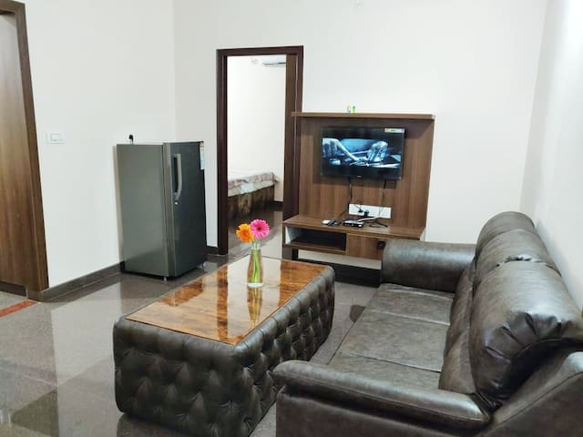Entire 1 BHK flat with Kitchen in JP Nagar - 00D2