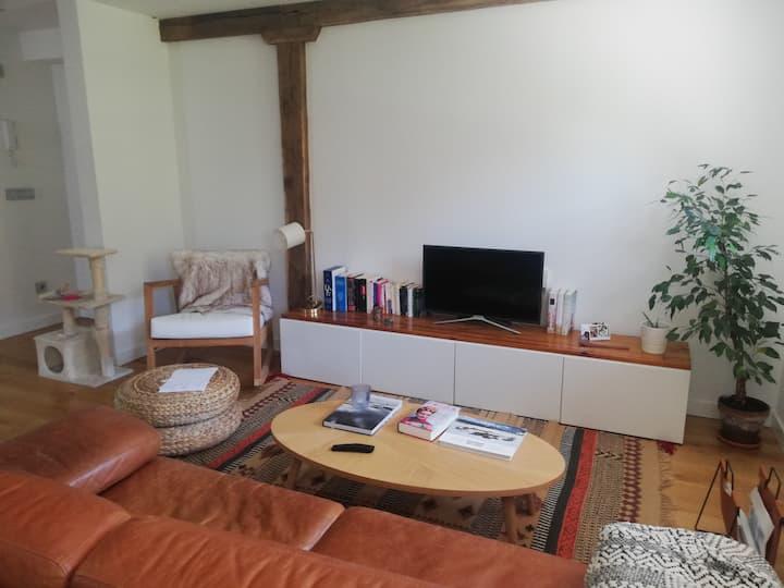 Habitación privada a 10 min de San Sebastián