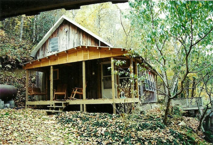 The Tulip Poplar Cabin - Perfect for Two People.
