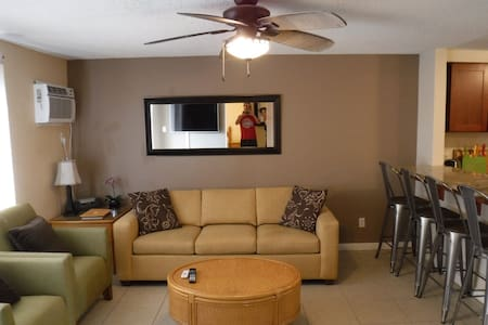 Fully Furnished min 6 month, Across From The Beach