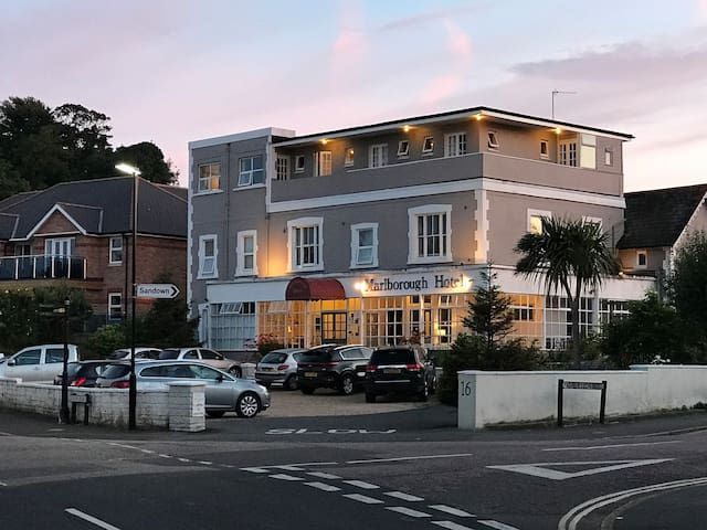 Marlborough Hotel , near the beach , Isle of Wight