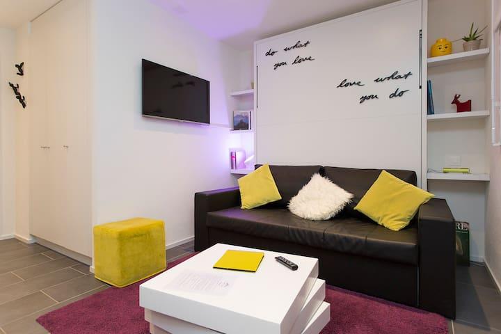 MY-Hub :  Magnifique studio neuf - Martigny