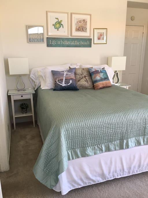 Beach Accents Bedroom