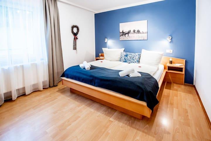Schönes Apartment für 6 Personen am Turnersee