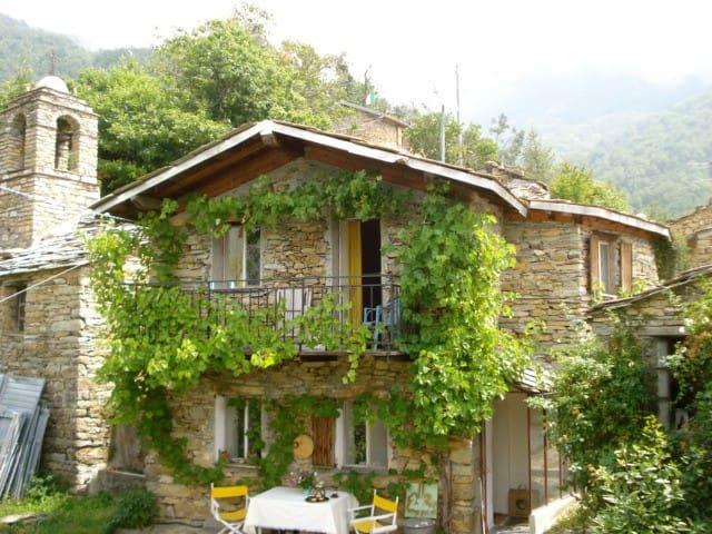 Maison de Hameau Carpasio au calme - Carpasio - Dom
