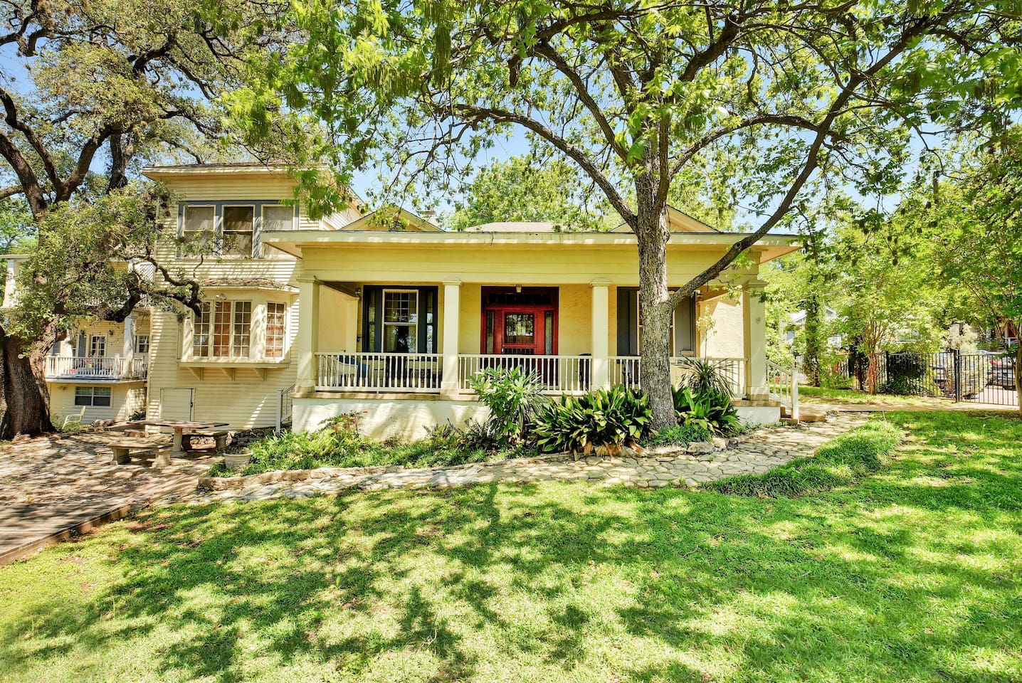Welcome to Austin! The historic Carrington House is professionally managed by TurnKey Vacation Rentals.