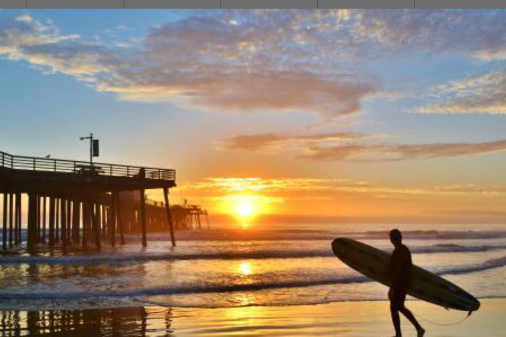Surf is great year round...