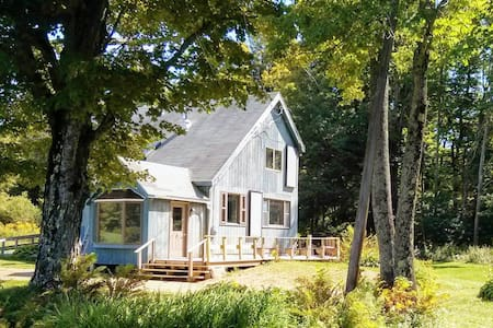 Flights End-Country Home with Babbling Brook, Pond