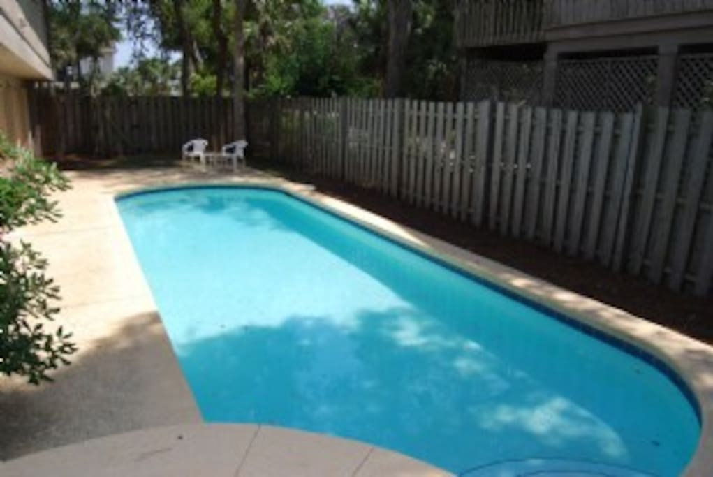 Private & Fenced in Pool Area