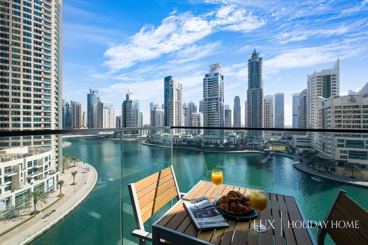 LUX | Contemporary Suite with Full Marina View