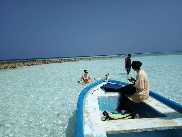 Budget Stay in Kaashidhoo island