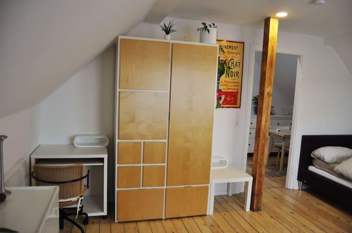 1,5 Zimmer Dachwohnung/Appartement - Ginsheim-Gustavsburg - Pis
