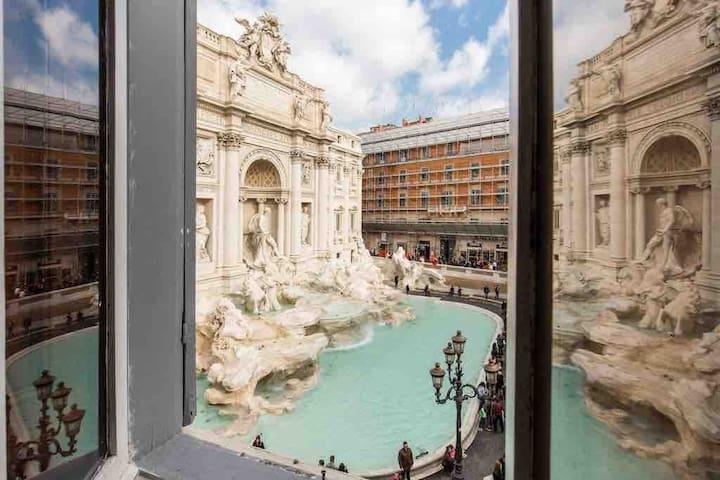 Benvenuti a Fontana di Trevi