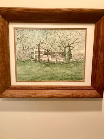 Local artist captures the Bingham School in spring