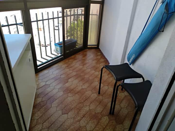 Habitación privada de 2 camas de 90