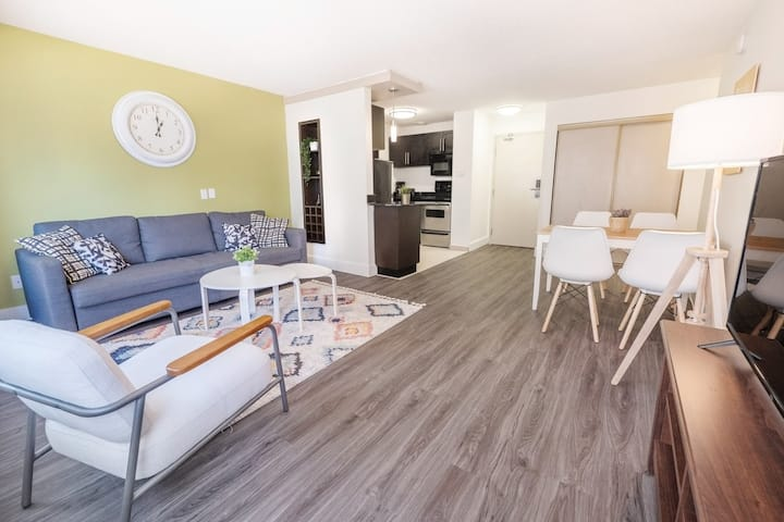 Vibrant 1BR|King bed|Downtown Convention MTS centr