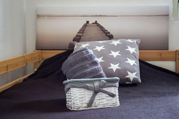Lac/océan...chambre en mezzanine - Carcans - Bed & Breakfast