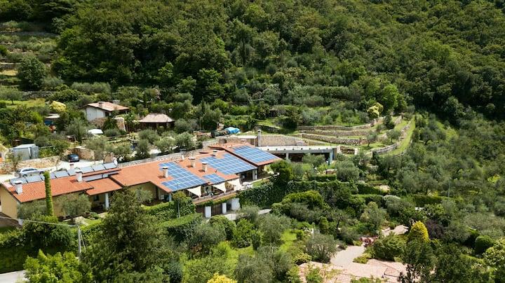 Resort Ulivihouse 1: oasis of peace  between hills