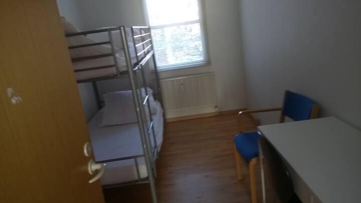 2  beds room in Copenhagen city