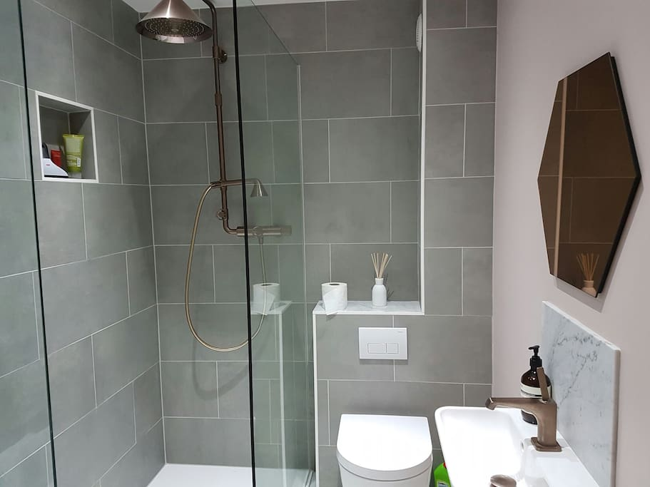 Private use of luxury shower room