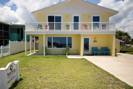 Pier Watch - Completely Renovated Flagler Beach Beauty with Sweeping Views - Flagler Beach