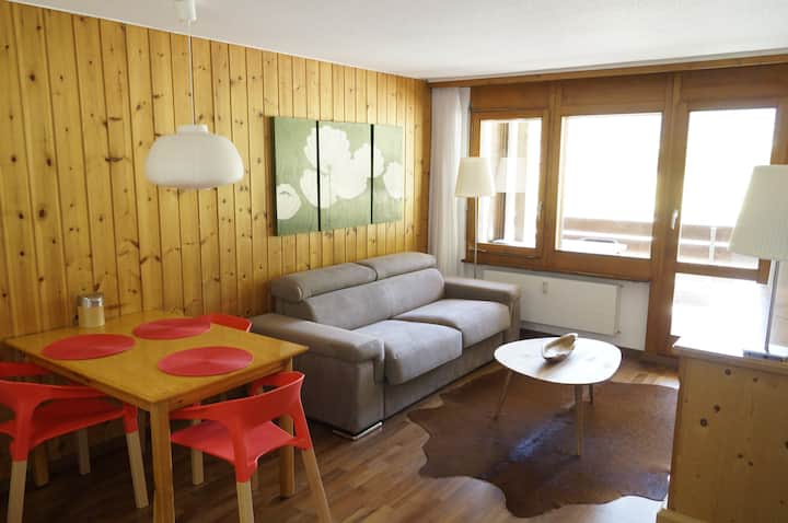 2 Rooms, South Balcony,  Pool, in Täsch (Zermatt)