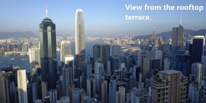 Hong Kong Home with A View!