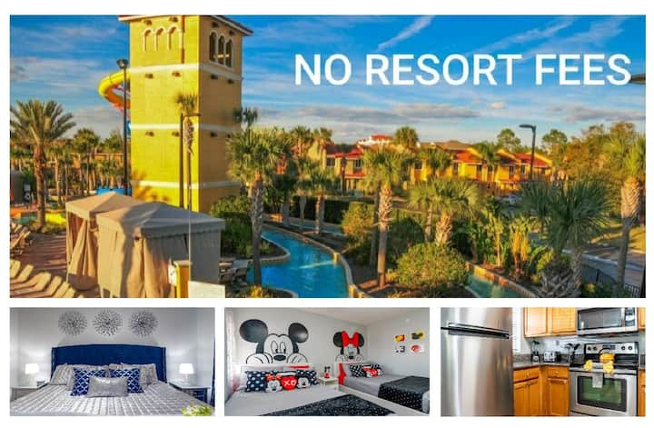 Fantasy World 2 BR, Luxury on Wet N Wild