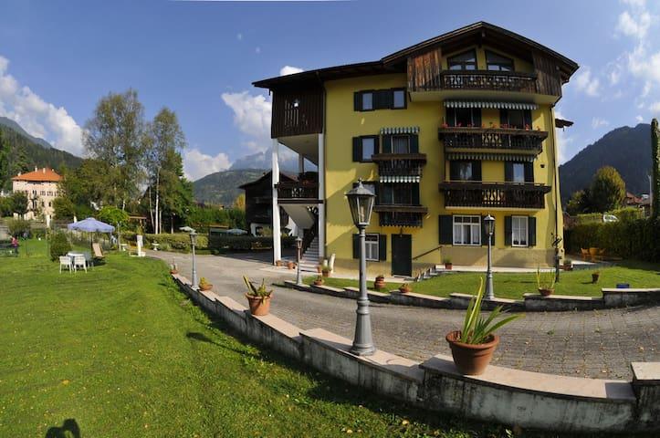 Villa Brandstetter, Appartamento Nr 3, Piano Terra - Transacqua - Apartment