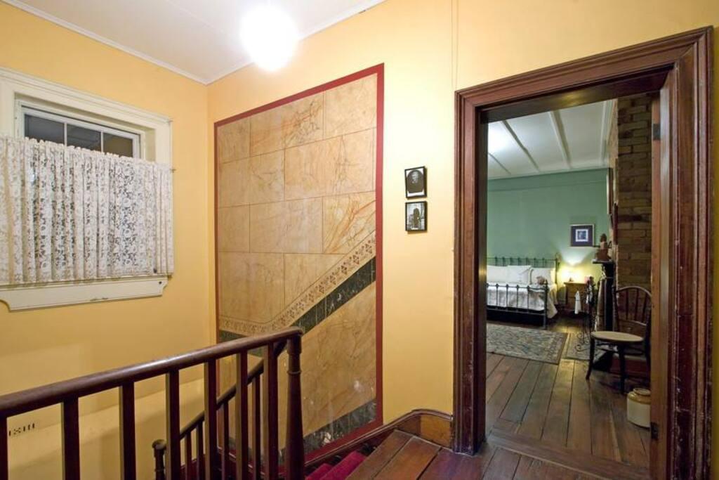 Hallway outside the Albert Room
