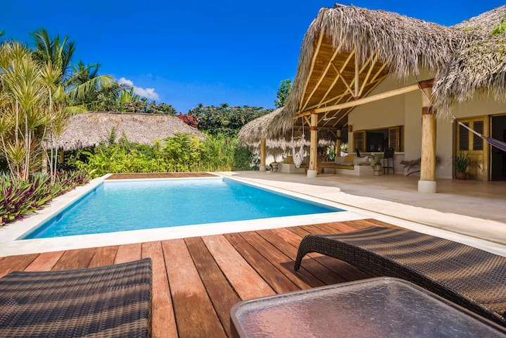 Exquisite villa with 24/7 electricity & security - Las Terrenas - Huis