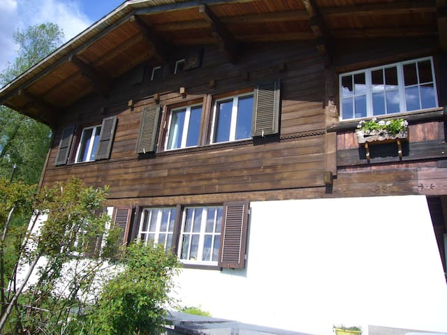 Small,sunny holyday apartment - Bürchen - Apartamento
