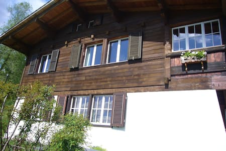 Small,sunny holyday apartment - Bürchen - Apartmen
