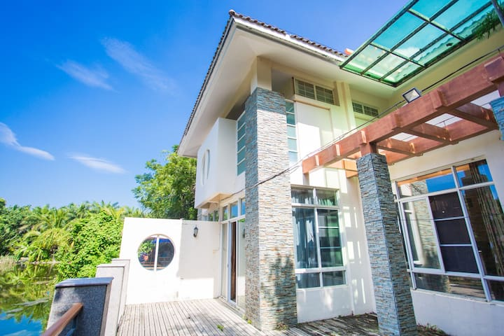 Yalong Bay four in China wind Villa - Sanya - Huis
