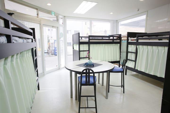 ベッド上段2人Bunk bed 2人Top - 福岡市 - Ház