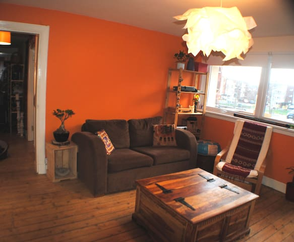 Funky Ground Floor House garden & wifi & parking - Edimburgo - Apartamento