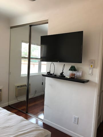 Premium package cable access and television.