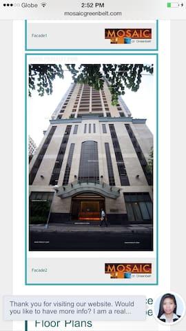 Events+Conference room nr Greenbelt - Makati - Apartmen