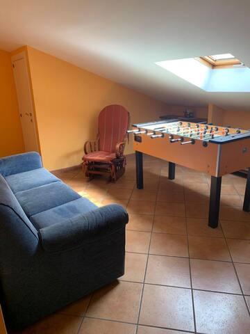 Salottino con divano letto