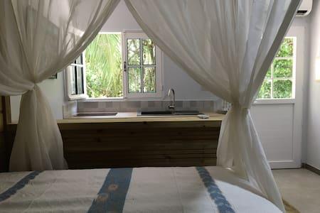 Studio zen face à la forêt tropicale à Schoelcher