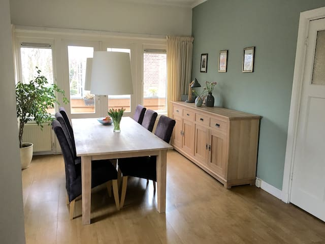 Heemstede center close to beach, dunes & Amsterdam - Heemstede - Flat
