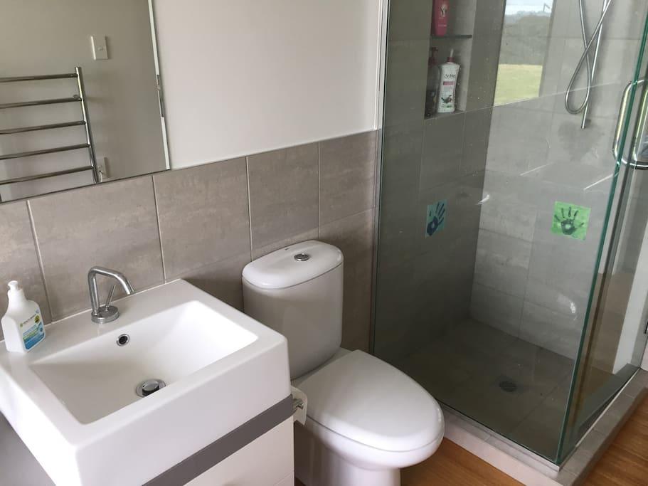 Adjoining bathroom